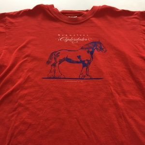 Vintage Budweiser Clydesdale Tee Graphic T Shirt L